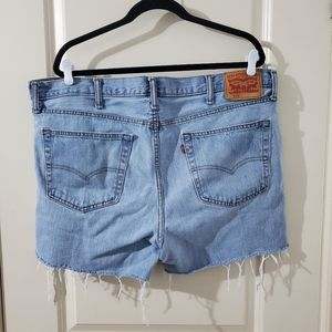 Levi 516 Cutoff Denim Shorts